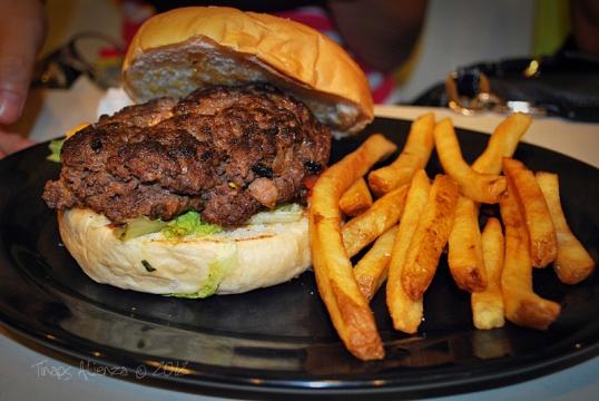 Filled Man Food Vs Burger Cheese